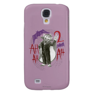 Count von Count B&W Sketch Drawing Galaxy S4 Case