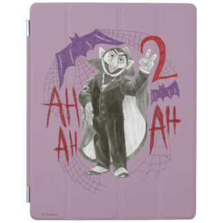 Count von Count B&W Sketch Drawing iPad Cover