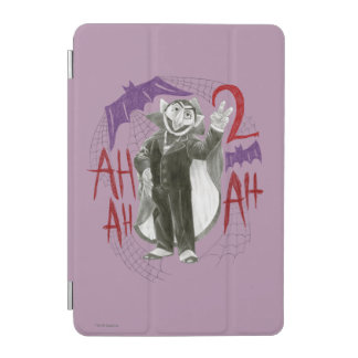 Count von Count B&W Sketch Drawing iPad Mini Cover