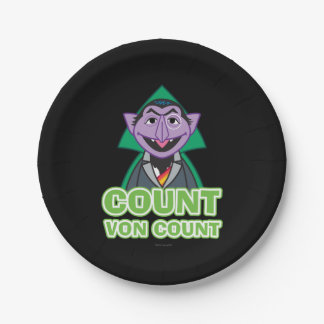 Count von Count Classic Style 2 7 Inch Paper Plate