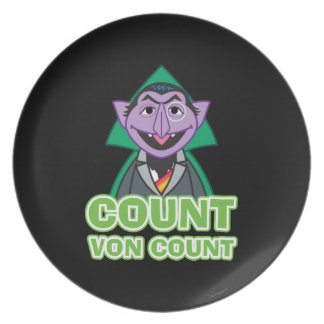Count von Count Classic Style 2 Party Plates