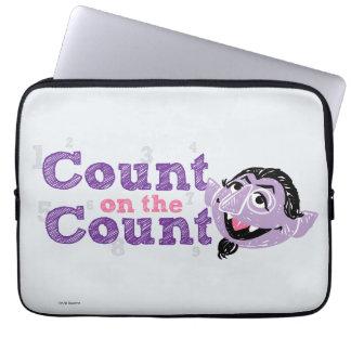 Count von Count Image Laptop Sleeve