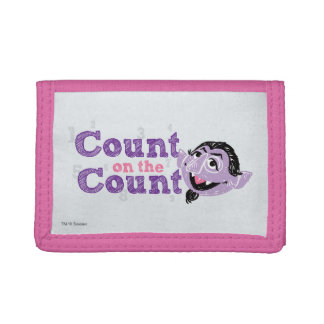 Count von Count Image Trifold Wallets