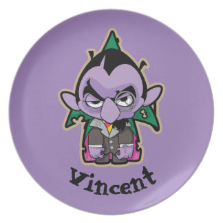 Count von Count Zombie   Add Your Name Plate