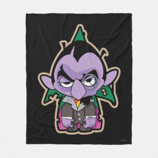 Count von Count Zombie Fleece Blanket