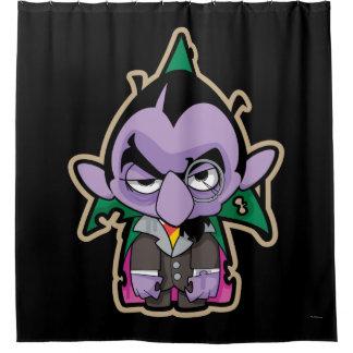 Count von Count Zombie Shower Curtain