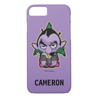 Count von Count Zombie   Your Name iPhone 7 Case