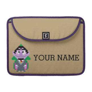 Count von Pixel Art | Add Your Name Sleeve For MacBooks