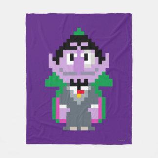 Count von Pixel Art Fleece Blanket