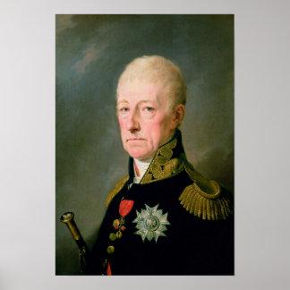 Count Wenzei Anton von Kaunitz Poster