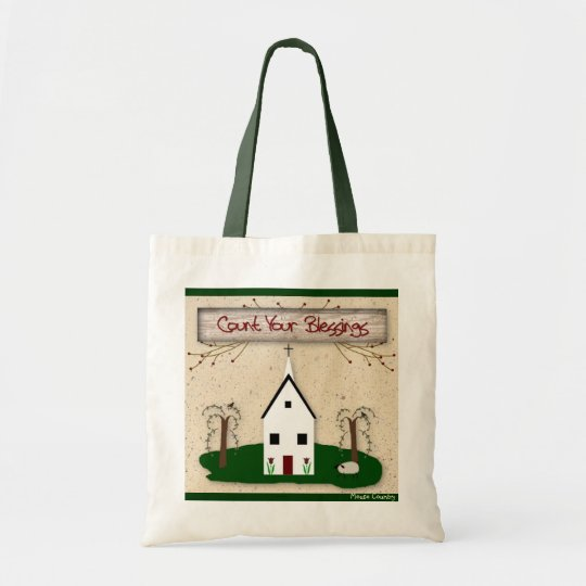 Count Your Blessings Church Bag