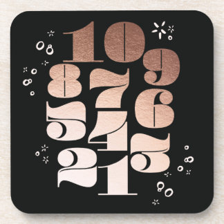 Countdown New Years Eve Party Coasters