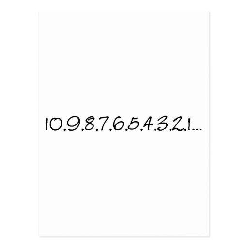Countdown Post Card