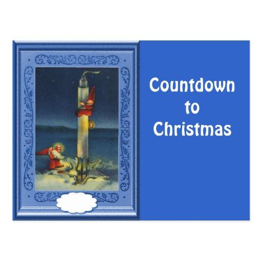 Countdown to Christmas Postcards