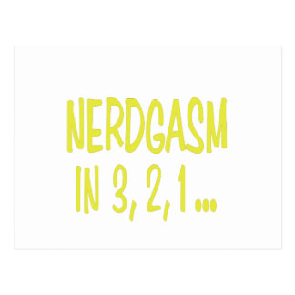 Countdown to Nerdgasm Post Cards