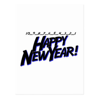 Countdown To New Year Postcard