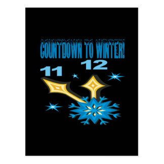 Countdown To Winter Post Cards
