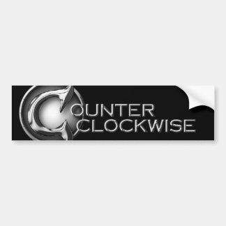 Counter Clockwise Bumper Sticker