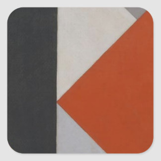 Counter composition XIII by Theo van Doesburg Square Sticker