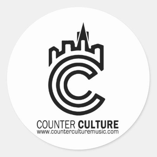 Counter Culture Underground Light Sticker