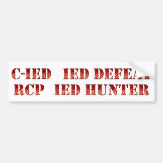 Counter IED Sticker Set Bumper Sticker