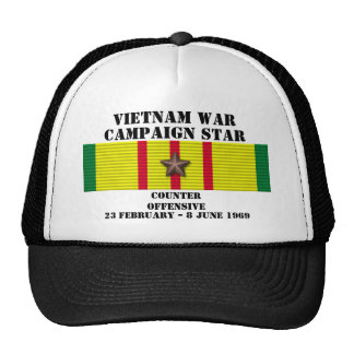 Counter - Offensive Tet 1969 Campaign Hats