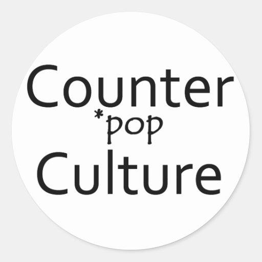 Counter *pop Culture Sticker