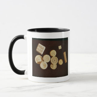 Counters and dice, Gallo-Roman Mug