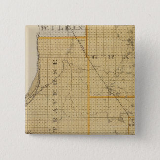 Counties of Grant, Traverse, Minnesota 15 Cm Square Badge