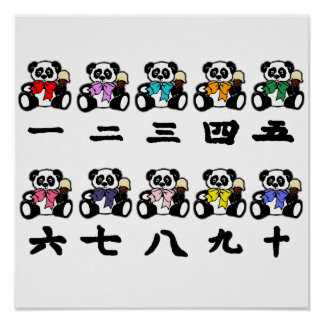 Counting Chinese Pandas Poster