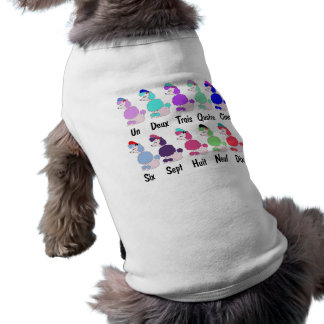 Counting French Poodle Shirt