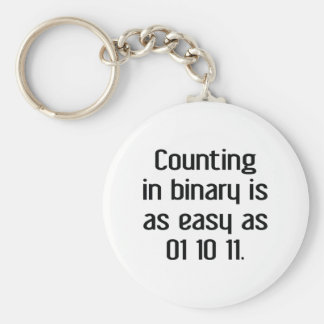 Counting In Binary Key Ring