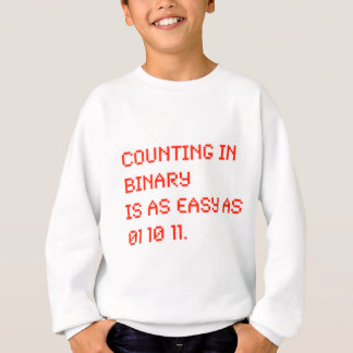 Counting in Binary Sweatshirt