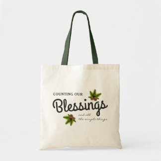 Counting Our Blessings | Christmas Tote Bag