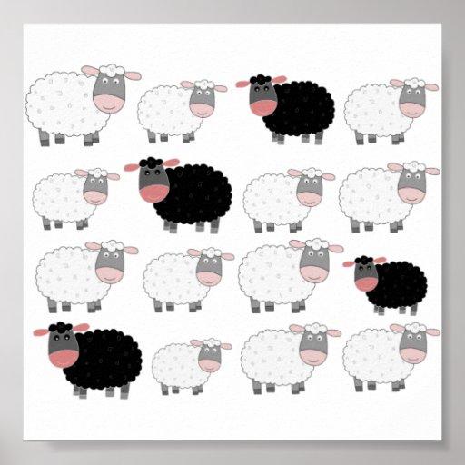Counting Sheep Print