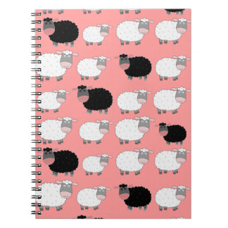 Counting Sheep Spiral Note Book