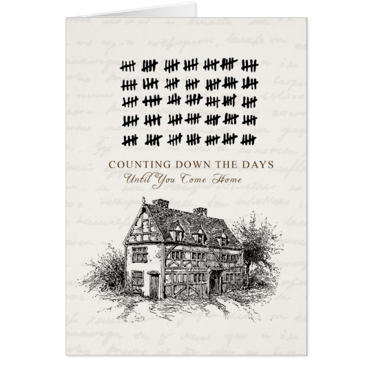 Counting The Days Card