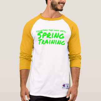 Counting the days til Spring Training (Oakland) T-Shirt