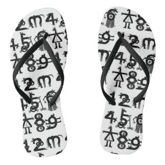 Counting Unicorns Flip Flops