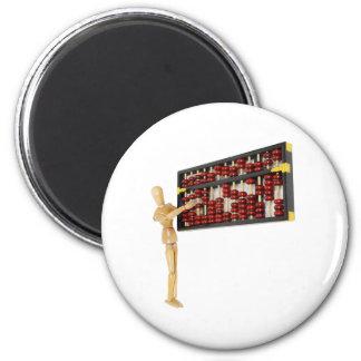 CountingUpNumbers061809 6 Cm Round Magnet