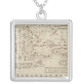 Countries Apostles Travelled in Silver Plated Necklace