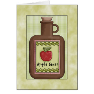 Country Apple Pie Greeting Cards
