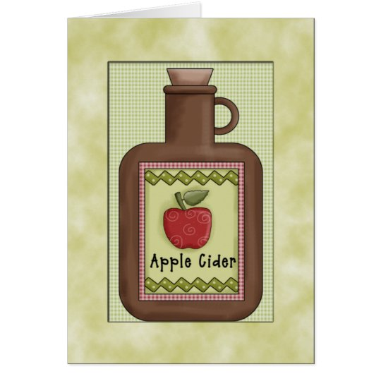 Country Apple Pie Card