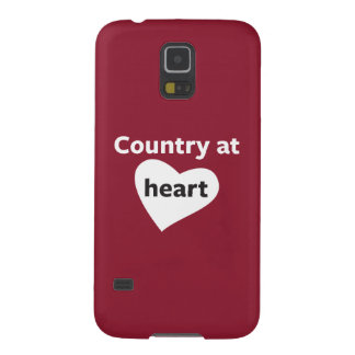 Country at Heart Galaxy S5 Cover