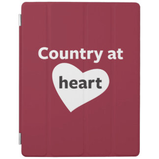 Country at Heart iPad Cover