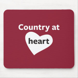 Country at Heart Mouse Pad