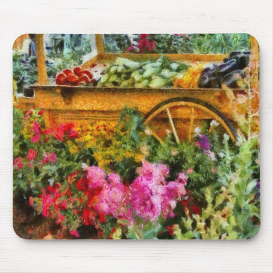 Country - At the farmers market Mouse Mat