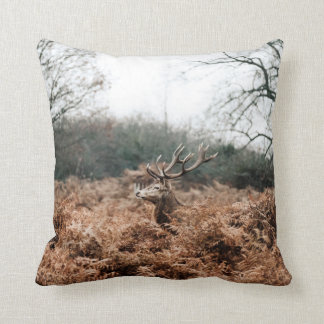 Country Autumn Deer Scatter Cushion