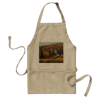 Country - Barn - The end of a season Standard Apron