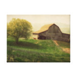 Country Barn Vintage Art Canvas Prints